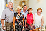 Joe Clifford, Noreen Conaire, Liam and Sharon Brennan and Mary Clifford enjoying the evening in Bella Bia on Saturday.