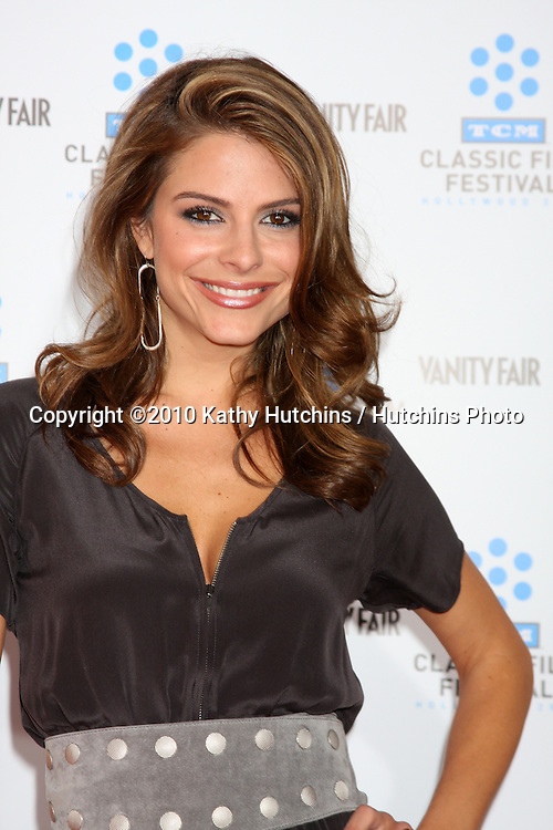 """.Maria Menounos.arrives at the """"A Star is Born"""" Restored Print World Premiere , part of the Turner Classic Movie Channel Classic Movie Festival.Grauman'S Chinese.Los Angeles, CA.April 22, 2010.©2010 Kathy Hutchins / Hutchins Photo..."""