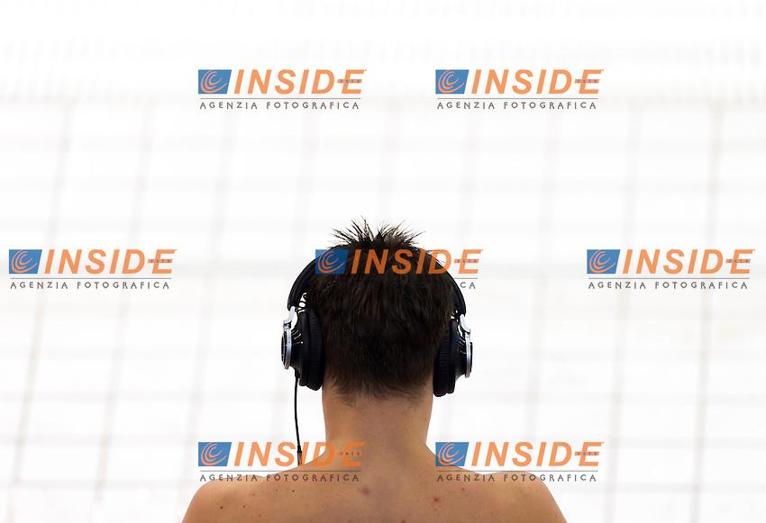 Training<br /> London, Queen Elizabeth II Olympic Park Pool <br /> LEN 2016 European Aquatics Elite Championships <br /> Diving<br /> Men's 1m springboard final <br /> Day 02 10-05-2016<br /> Photo Giorgio Perottino/Deepbluemedia/Insidefoto