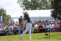 Rory McIlroy (NIR) tees off the 1st tee during Friday's Round 2 of the 2017 PGA Championship held at Quail Hollow Golf Club, Charlotte, North Carolina, USA. 11th August 2017.<br /> Picture: Eoin Clarke | Golffile<br /> <br /> <br /> All photos usage must carry mandatory copyright credit (&copy; Golffile | Eoin Clarke)