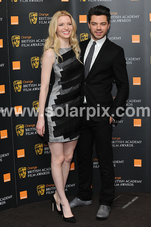 **ALL ROUND PICTURES FROM SOLARPIX.COM**                                             **WORLDWIDE SYNDICATION RIGHTS**                                                                                  Dominic Cooper and Tallulah Riley attend photocall to announce the nominations for the BAFTAS 2010.  Held at BAFTA, Picadilly, on Tuesday January 18, 2010.                                                                          This pic:      Dominic Cooper and Tallulah Riley                                                                                        JOB REF:    12676    SSD       DATE:   17.01.11                                                       **MUST CREDIT SOLARPIX.COM OR DOUBLE FEE WILL BE CHARGED**                                                                      **MUST AGREE FEE BEFORE ONLINE USAGE**                               **CALL US ON: +34 952 811 768 or LOW RATE FROM UK 0844 617 7637**