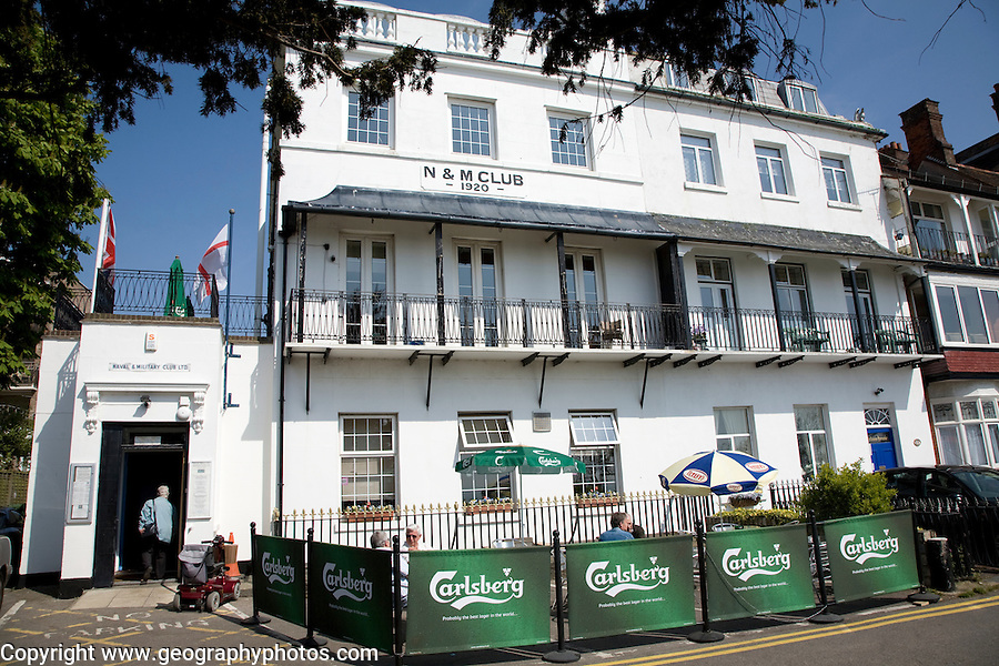 N & M, Naval and Military club, Southend, Essex
