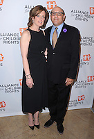 BEVERLY HILLS, CA - APRIL 7:  Anne Sweeney and Willie Garson at The Alliance for Children's Rights 22nd Annual Dinner at the Beverly Hilton Hotel on April 7, 2014 in Beverly Hills, California. PG213/MPI/Starlitepics