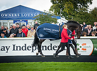 THE CURRAGH, CO. KILDARE - SEPTEMBER 10: Scenes from the second day of Irish Champions weekend at The Curragh in Co. Kildare, Ireland. (Photo by Sophie Shore/Eclipse Sportswire/Getty Images)