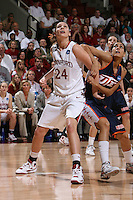 24 March 2008: Ashley Cimino during Stanford's 88-54 win over UTEP in the second round of the NCAA women's basketball championships in Stanford, CA.