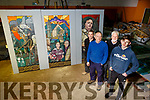 Members of the Athea Tidy Towns who are restoring the Famed Mural and hope to have it, in it's original place within the next five weeks, l-r: Joe Lavin, John Scanlon, Jim Dunn and Shane Scanlon.