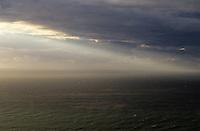 Coastal rain storm