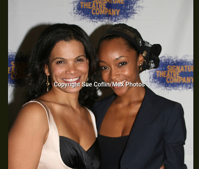 """OLTL January LaVoy stars in play Home & YaYa Dacosta (AMC) .""""Cassandra Foster"""" came to see it on opening night of the play HOME for Signature Theatre Company on December 7, 2008 with the after party at 44 1/2, New York, New York. (Photo by Sue Coflin/Max Photo)"""