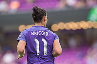 Orlando, FL - Saturday April 22, 2017: Ali Krieger during a regular season National Women's Soccer League (NWSL) match between the Orlando Pride and the Washington Spirit at Orlando City Stadium.