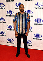 "ANAHEIM, CA - MARCH 29: Jeremie Harris, cast member of FX's ""Legion"" attends WonderCon 2019 at the Anaheim Convention Center on March 29, 2019 in Anaheim, California. (Photo by Frank Micelotta/FX/PictureGroup)"