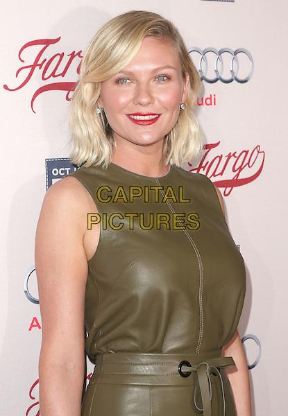 07 October 2015 - Hollywood, California - Kirsten Dunst. &quot;Fargo&quot; Season 2 Premiere held at ArcLight Cinemas. <br /> CAP/ADM/FS<br /> &copy;FS/ADM/Capital Pictures