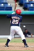 October 5, 2009:  Michael Burgess of the Washington Nationals organization during an Instructional League game at Space Coast Stadium in Viera, FL.  Burgess was selected in the 1st round of the 2007 MLB Draft.  Photo by:  Mike Janes/Four Seam Images