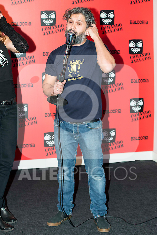 Lucas Baro attends the presentation of the brand &quot;Comando Jaza&quot; in Madrid, December 14, 2015<br /> (ALTERPHOTOS/BorjaB.Hojas)
