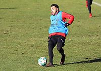 Marco Fabian (Eintracht Frankfurt) - 30.01.2018: Eintracht Frankfurt Training, Commerzbank Arena