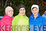 Susan Dineen Gneeveguilla, Breda Mulryan and Eileen Coffey Beaufort who ran in the Farranfore/Maine Valley AC road race in Farranfore on St Stephen's day