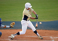 Florida International University infielder/outfielder Tyler James Shantz (5) plays against Florida Gulf Coast University. FIU won the game 10-3 on March 28, 2012 at Miami, Florida.
