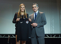 Baltimore, MD - January 15, 2015: The National Women's Soccer League (NWSL) held their 2016 draft at the Baltimore Convention Center.