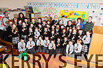 Music students from Brosna NS,  pictured here last Thursday.