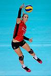 25.08.2018, …VB Arena, Bremen<br />Volleyball, LŠ&auml;nderspiel / Laenderspiel, Deutschland vs. Niederlande<br /><br />Angriff Louisa Lippmann (#11 GER)<br /><br />  Foto &copy; nordphoto / Kurth