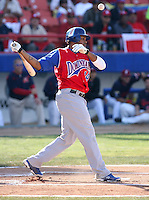 Willy Aybar / Dominican Republic - 2009 Caribbean Series, Mexicali..Photo by:  Bill Mitchell/Four Seam Images