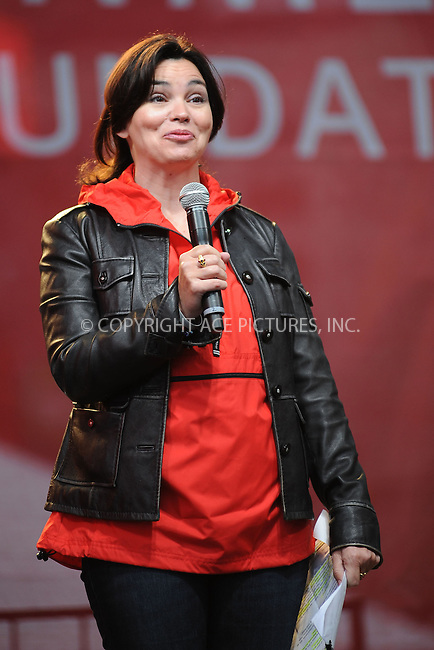 WWW.ACEPIXS.COM . . . . . .May 5, 2012...New York City....Karen Duffy at the 15th Annual EIF Revlon Run/Walk For Women in Times Square on May 5, 2012 in New York City on May 5, 2012  in New York City ....Please byline: KRISTIN CALLAHAN - ACEPIXS.COM.. . . . . . ..Ace Pictures, Inc: ..tel: (212) 243 8787 or (646) 769 0430..e-mail: info@acepixs.com..web: http://www.acepixs.com .
