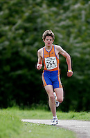 13 MAY 2006 - EDINBURGH, UK - Jonathan Brownlee - British Duathlon Championships (PHOTO (C) 2006 NIGEL FARROW)