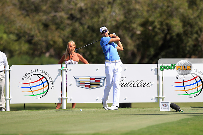 Cameron Tringale (USA) during the 1st round at the WGC Cadillac Championship, Blue Monster, Trump National Doral, Doral, Florida, USA<br /> Picture: Fran Caffrey / Golffile