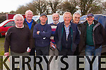 Pictured at Lixnaw Coursing Club 86th Annual Meeting at Granshagh, Ballinclogher on Sunday were L-R: Brendan O'Halloran Abbeydorney, Martin O'Halloran, Kilflynn, Anthony Connell, Abbeydorney, Neily O'Connell, Kilflynn, Pj Keane Abbeydorney, Declan Lynch, Kilflynn and Dan O'Connor, Scartaglin.