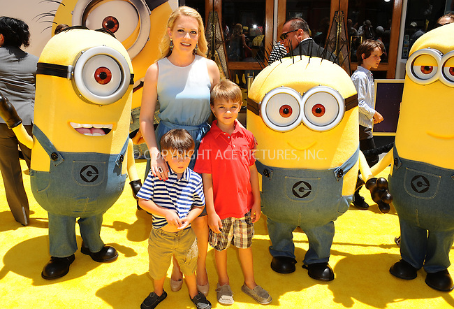 WWW.ACEPIXS.COM<br /> <br /> June 22 2013, New York City<br /> <br /> Melissa Joan Hart arriving at the 'Despicable Me 2' premiere at Universal CityWalk on June 22, 2013 in Universal City, California.<br /> <br /> <br /> By Line: Peter West/ACE Pictures<br /> <br /> <br /> ACE Pictures, Inc.<br /> tel: 646 769 0430<br /> Email: info@acepixs.com<br /> www.acepixs.com