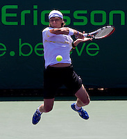 Peter LUCZAK (AUS) against Robin SODERLING (SWE) in the seocnd round of the men's singles. Soderling beat Luczak 7-6 6-0..International Tennis - 2010 ATP World Tour - Sony Ericsson Open - Crandon Park Tennis Center - Key Biscayne - Miami - Florida - USA - Sat 27 Mar 2010..© Frey - Amn Images, Level 1, Barry House, 20-22 Worple Road, London, SW19 4DH, UK .Tel - +44 20 8947 0100.Fax -+44 20 8947 0117