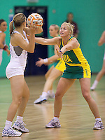 07 OCT 2009 - LOUGHBOROUGH, GBR - Kim Green - Loughborough Lightning v Australian Diamonds (PHOTO (C) NIGEL FARROW)