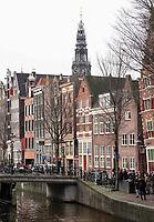 Nederland -  Amsterdam -  2018.   De Oudezijds Voorburgwal.  Foto Berlinda van Dam / Hollandse Hoogte