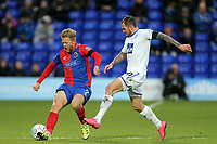 BJames Norwood of Tranmere Rovers and en Nunn of Dagenham during Tranmere Rovers vs Dagenham & Redbridge, Vanarama National League Football at Prenton Park on 11th November 2017