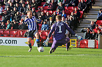 Barry Bannan of Sheffield Wednesday shot saved by Dillon Phillips of Charlton Athletic during Charlton Athletic vs Sheffield Wednesday, Sky Bet EFL Championship Football at The Valley on 30th November 2019