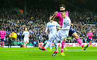 Leeds United's Pablo Hernandez goes close with a chance in the first half<br /> <br /> Photographer Alex Dodd/CameraSport<br /> <br /> The EFL Sky Bet Championship - Leeds United v Queens Park Rangers - Saturday 8th December 2018 - Elland Road - Leeds<br /> <br /> World Copyright &copy; 2018 CameraSport. All rights reserved. 43 Linden Ave. Countesthorpe. Leicester. England. LE8 5PG - Tel: +44 (0) 116 277 4147 - admin@camerasport.com - www.camerasport.com