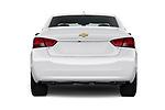 Straight rear view of 2019 Chevrolet Impala 1LT Door Sedan Rear View  stock images