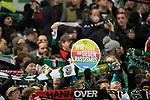 28.01.2018, HDI Arena, Hannover, GER, 1. Bundesliga, Hannover 96 - VfL Wolfsburg, im Bild, Fans  gegen Rassismus<br /> <br /> Foto &copy; nordphoto / Dominique Leppin