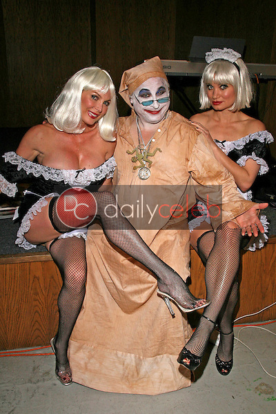 Shelley Michelle with Count Smokula and Rena Riffel<br />Inside Edition covers a story on &quot;Body Doubles&quot;. Private Location, Los Angeles, CA. 04-25-08<br />Dave Edwards/DailyCeleb.com 818-249-4998