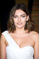 Alyssa Miller arriving for the 2014 Vanity Fair Oscars Party, Los Angeles. 02/03/2014 Picture by: James McCauley/Featureflash