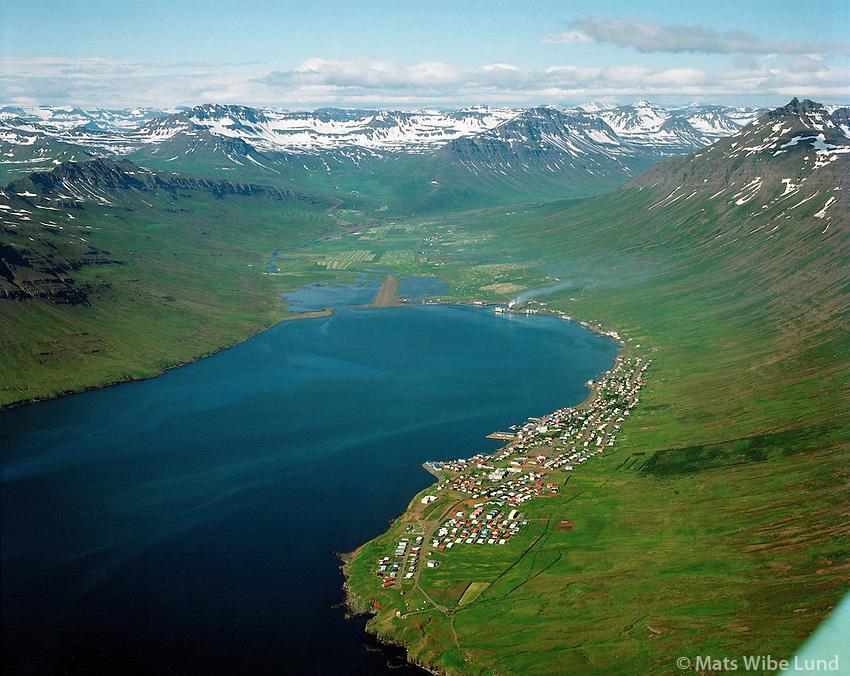 Neskaupstaður, Norðfjörður 1994, Norðfjarðarhreppur /.Neskaupstadur