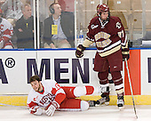 Peter MacArthur, Andrew Orpik - The Boston College Eagles defeated the Boston University Terriers 5-0 on Saturday, March 25, 2006, in the Northeast Regional Final at the DCU Center in Worcester, MA.