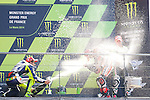 Le Mans GP de France<br /> Monster Energy Grand Prix de France during the world championship 2014.<br /> 18-05-2014<br /> MotoGP Race<br /> valentino rossi<br /> marc marquez<br /> PHOTOCALL3000/RM
