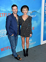"LOS ANGELES, USA. October 17, 2019: Adam Fergus & Hayley Erin at the premiere of ""Living With Yourself"" at the Arclight Theatre, Hollywood.<br /> Picture: Paul Smith/Featureflash"