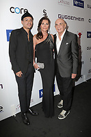 LOS ANGELES - SEP 21:  Evan Ross, Linell Shapiro, Robert Shapiro at the Brent Shapiro Foundation Summer Spectacular 2019 at the Beverly Hilton Hotel on September 21, 2019 in Beverly Hills, CA
