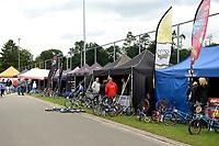 ASSEN - Wielersport, NK BMX, Stadsbroek,  02-07-2017,  ennerskwartier