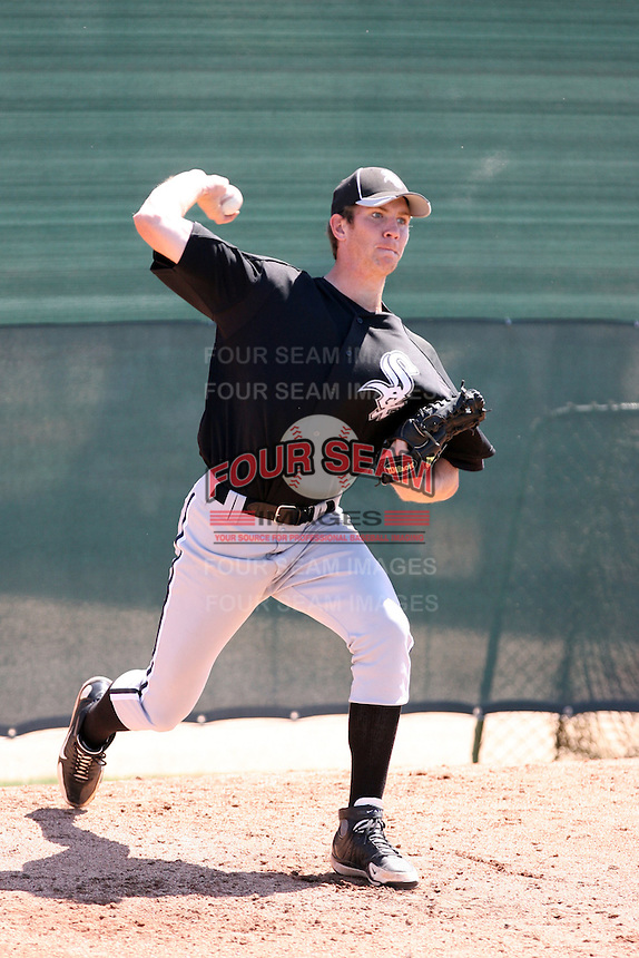 Matthew Heidenreich, Chicago White Sox 2010 minor league spring training..Photo by:  Bill Mitchell/Four Seam Images.