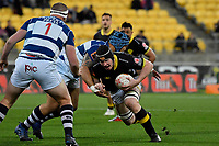 Wellington&rsquo;s James Blackwell in action during the Mitre 10 Cup - Wellington v Auckland at Westpac Stadium, Wellington, New Zealand on Thursday 4 October 2018. <br /> Photo by Masanori Udagawa. <br /> www.photowellington.photoshelter.com