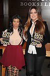 Kourtney And Khloe Kardashian Sign Copies Of Their Book Dollhouse 11-18-11