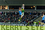 David Moran Kerry in action against Shane Carthy Dublin in the National League in Austin Stack park on Saturday night.