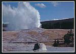Old Faithful Geyser eruption